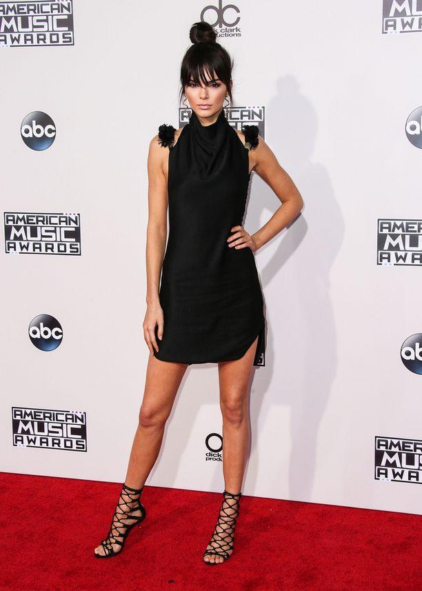 Kendall Jenner on osa kuuluisaa Kardashian-Jennereiden tosi-tv-perhettä.