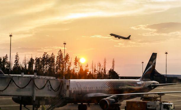 Eurooppalaislentojen turvallisuutta seurataan erityisen tarkasti Syyrian tilanteen vuoksi. Kuvituskuva.