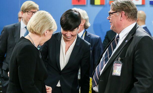 Ulkoasiainministeri Timo Soini ei ole vielä varma, lähteekö hän ehdolle eurovaaleihin vuonna 2019.