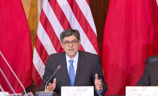 Yhdysvaltain valtiovarainministeri Jack Lew odottaa pikaisia ratkaisuita.