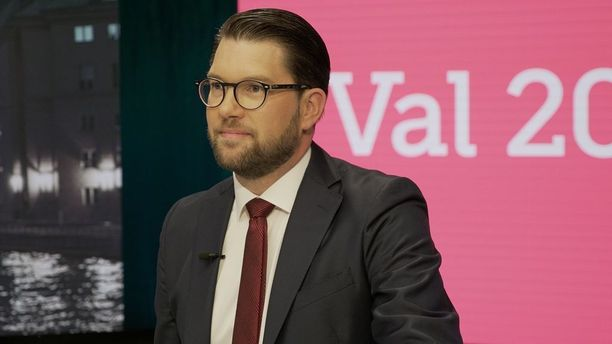 Ruotsidemokraatit nousi Ruotsin suurien puolueiden joukkoon Jimmie Åkessonin johdolla.