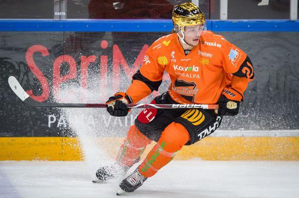 KooKoon Malte Strömwall keräsi Porissa tehot 1+1.