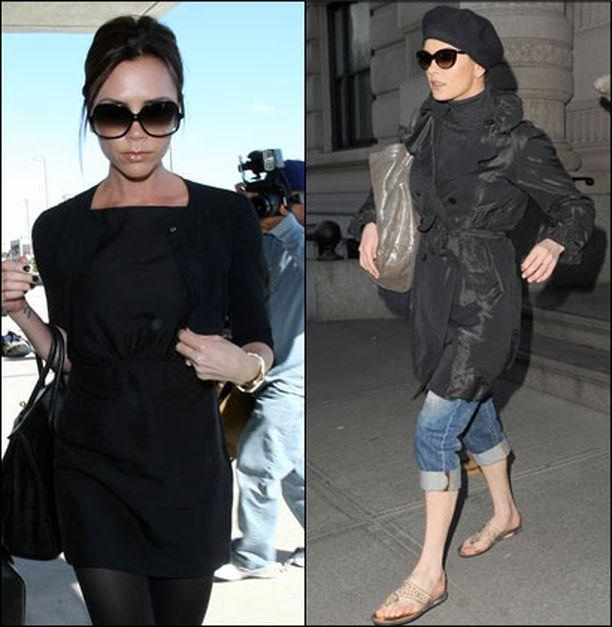 Victoria Beckhamin tyyli on inspiraatio monelle, myös Catherine Zeta-Jonesille.