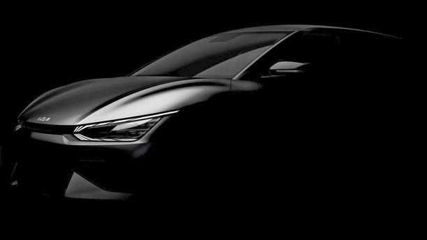 Jo Kia EV6:n keulakuva paljastaa uuden muotoilutyylin.