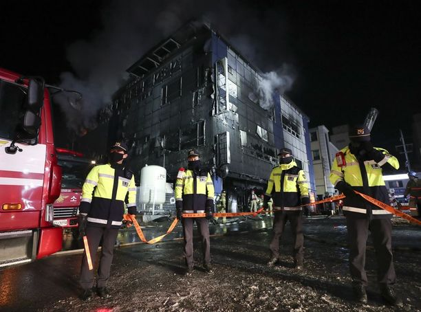 Palo on saatu pääosin sammutettua.