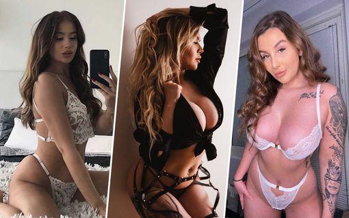 Nämä julkkikset myyvät alusvaate- ja alastonkuviaan netissä – mukana myös kuntavaaliehdokas