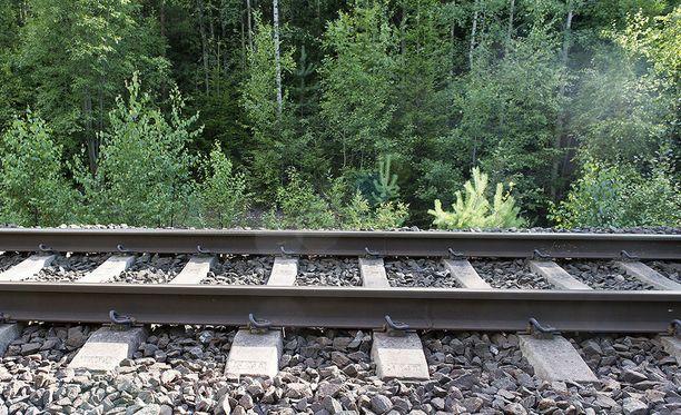 Poliisin useat partiot etsivät ilmoitettua luvatonta liikkujaa Vaasan ja Laihian väliseltä junaradalta myöhään perjantai-iltana.