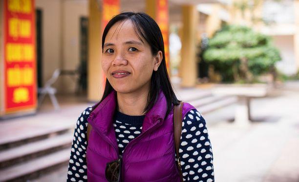 """""""Kulttuurissamme on sanonta, jonka mukaan tytöt ja naiset ovat olemassa, jotta ihmiset voivat heitä kiusata"""", Plan International Hanoin projektikoordinaattori Dao Thu Bao Thu kertoo."""