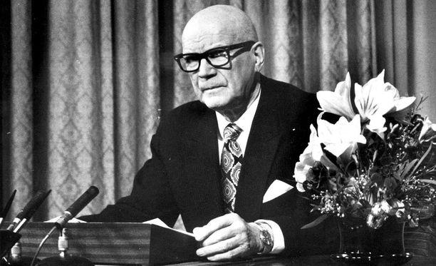 Presidentti Urho Kekkosella oli yllättävän pieni, läheinen ystäväpiiri.
