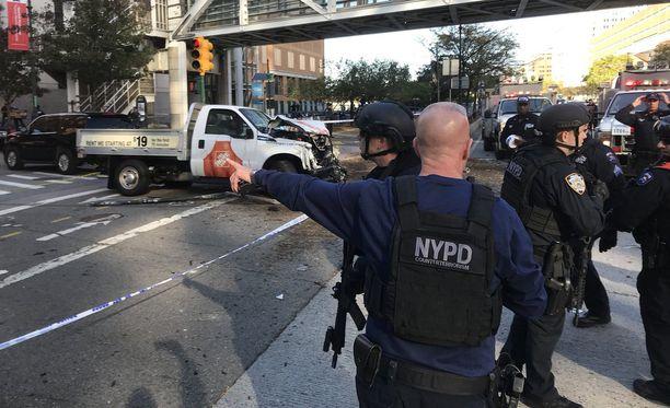 Poliisin mukaan ainakin kahdeksan ihmistä on kuollut.