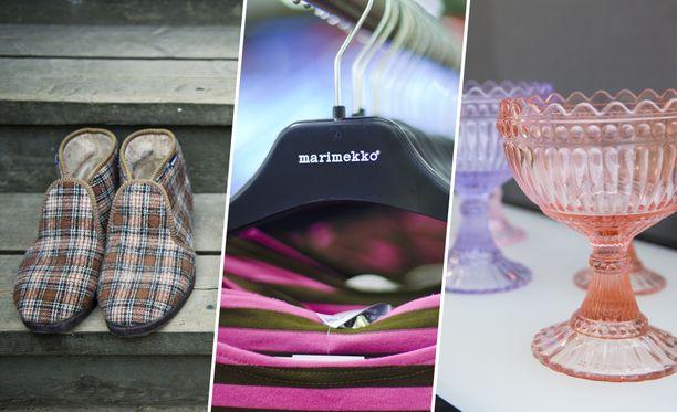 Reinot ja Marimekon paidat valmistetaan ulkomailla, mutta Mariskoolit valmistetaan Suomessa.