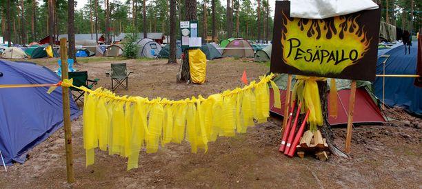 Leiri järjestetään Kokemäen Pitkäjärvellä. Kuva viime vuoden leiriltä.