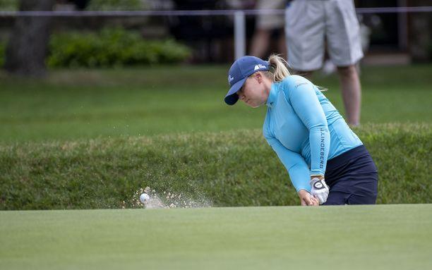 Matilda Castrenista tuli kesäkuussa ensimmäinen suomalainen LPGA-osakilpailun voittaja.