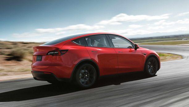 Nopeimmillaan Model Y kiihtyy 3,5 sekunnissa 0 - 96 mph.