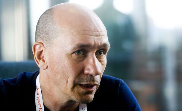 Jorma Kemppainen on Urheiluliiton valmennuspomo.
