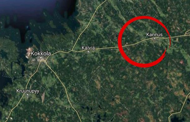 Traaginen onnettomuus tapahtui Kannuksessa Keski-Pohjanmaalla.