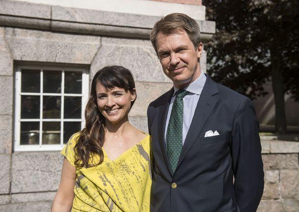 Peter Nyman ja Maija Lukkari-Nyman ovat olleet naimisissa jo lähes 15 vuotta.