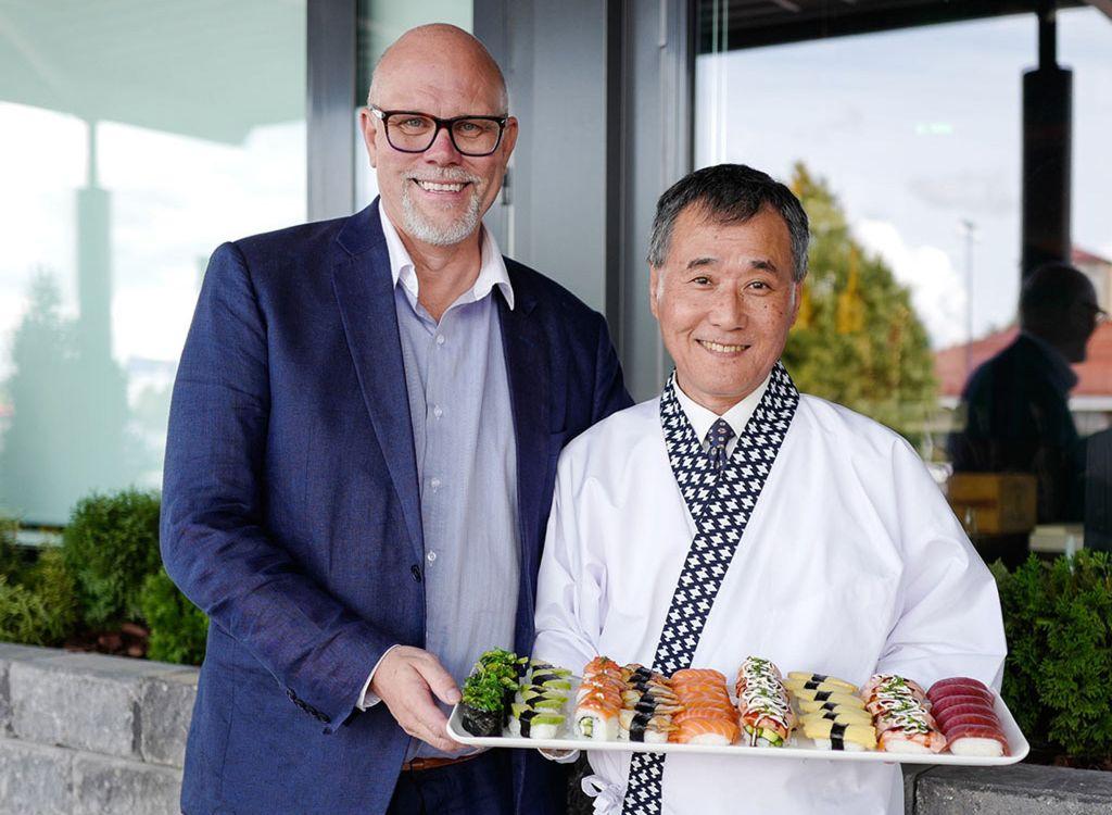 Markku Hautala on tehnyt tiivistä yhteistyötä japanilaisen ruoka- ja keittiötarvikeliike Tokyokanin omistajan Norio Tomidan kanssa.