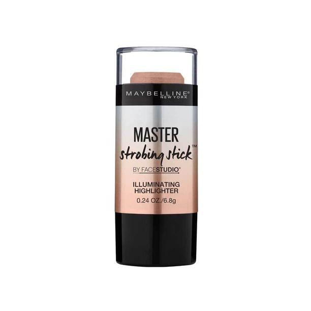 Puikkomaisella tuotteella teet korostukset kaikkein helpoiten. Maybellinen uusi Face Studio Master Strobing Stick levittyy kauniisti, ja lämpimämpi sävy 02 Medium Champagne toimii päivettyneelläkin iholla, 9,90 e.