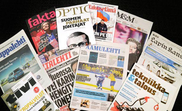 Alma Mediaan kuuluu Iltalehden lisäksi muun muassa Kauppalehti, Aamulehti, Tekniikka&Talous ja Lapin Kansa.