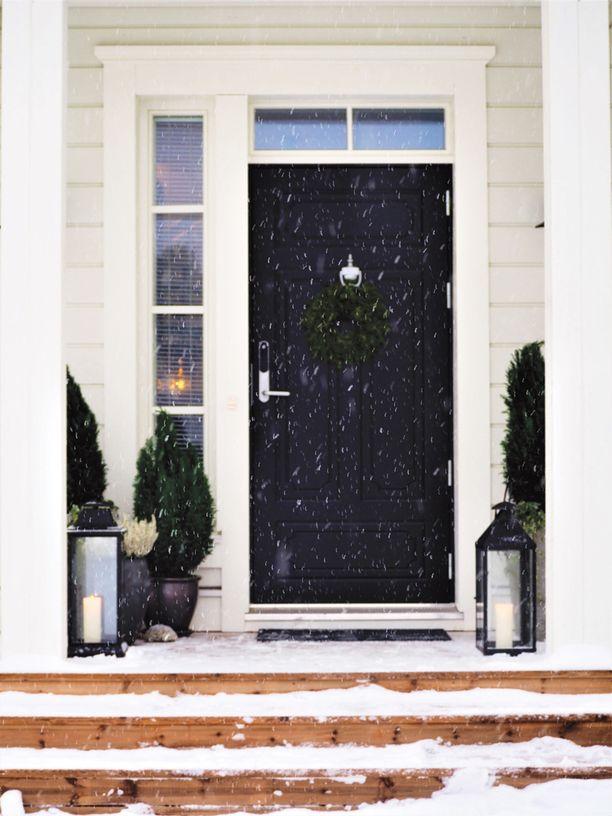 Kodin sisäänkäynti kannattaa tehdä mahdollisimman houkuttelevaksi.