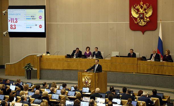 Venäjän duuma on ehdottanut 16 kohdan vastapakotelistan, joka sisältää muun muassa yhdysvaltalaisten maatalous- sekä alkoholi-ja tupakkatuotteiden tuonnin kieltämistä tai rajoittamista.