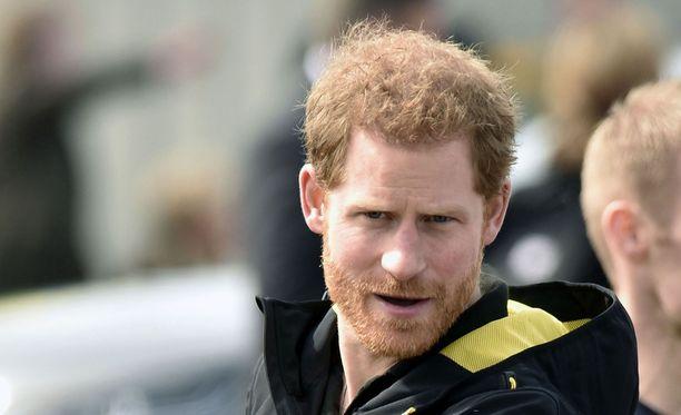 Prinssi Harry sai kunniakkaan tehtävän.