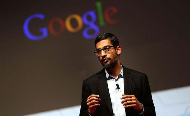 Googlen nykyinen toimitusjohtaja Sundar Pichai osallistui Espanjassa järjestettyyn konferenssiin maaliskuussa 2015.