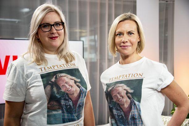 Julia Aalto-Setälä ja Miia Vatka julistautuvat Temppari-tädeiksi.