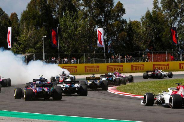 Espanjan GP alkoi rysäyksellä.