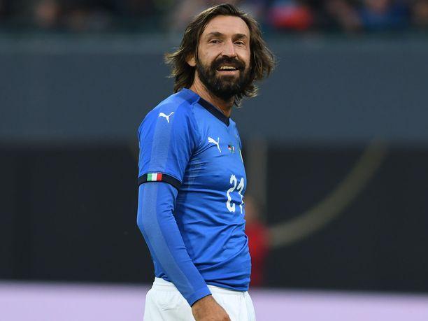 Andrea Pirlosta tullee Juventuksen uusi manageri.