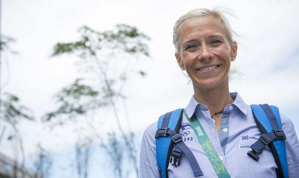 Anne-Mari Hyryläinen tavoittelee menestystä Berliinin EM-kisojen maratonilla. Kuva Rion olympialaisista 2016.