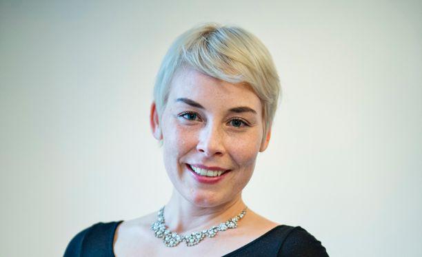 Laura Lindstedt voitti Finlandian viime vuonna.