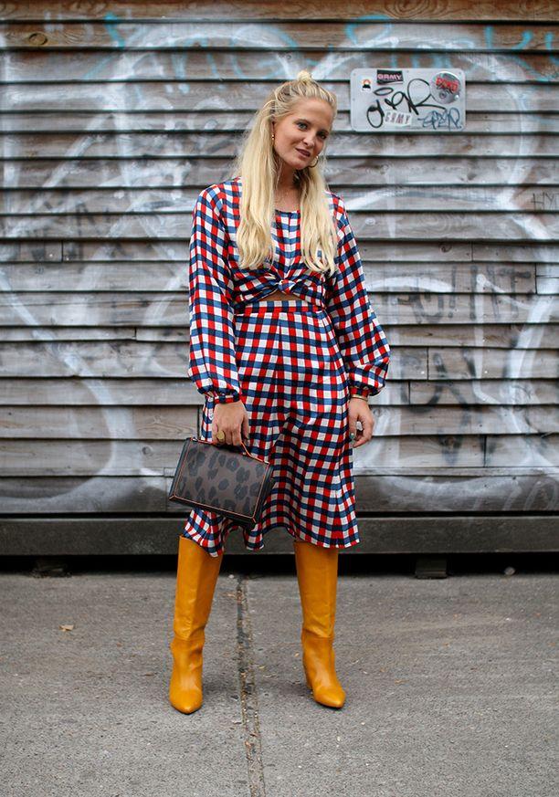 Norjan ELLE-lehden muotitoimittaja Nathalie Helgerud on yksi vuonomaan seuratuimmista muotikasvoista.