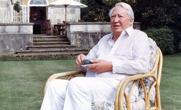 Sir Edward Heath nousi pääministeriksi 1965 ja toimi pestissä neljä vuotta. Kuvassa Heath vuonna 1989.