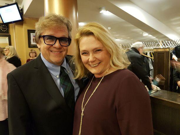 Mikko ja Seija Alatalo ovat kulttuurin ystäviä. - Näin musikaalin New Yorkissa 80-luvulla Reijo Ruotsalaisen kanssa, Mikko muisteli.