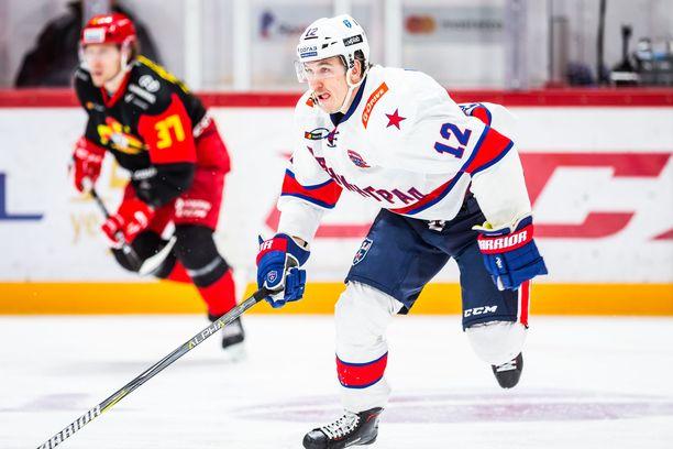Jori Lehterä pelasi tällä kaudella SKA:ssa 51 ottelua tehoin 15+15=30.