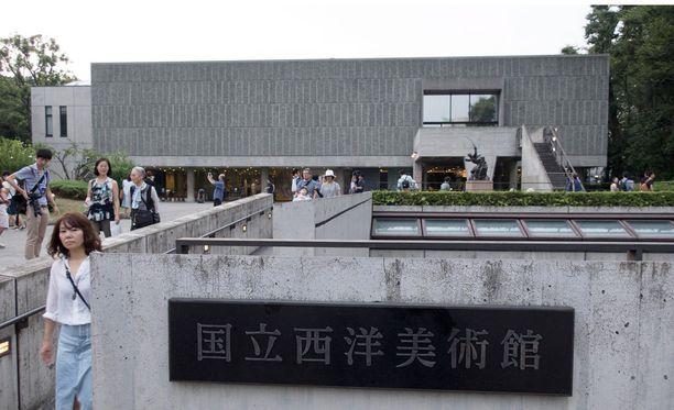 Länsimaisen taiteen museo Tokiossa on yksi Le Corbusierin 17 rakennuksesta, jotka pääsivät Unescon listalle.