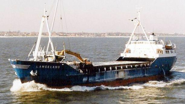 Langelandin kuusihenkinen miehistö katosi myrskyssä.