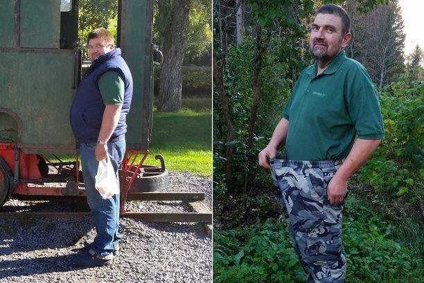 Laihtuminen hidastui ajan kanssa, mutta nyt lokakuussa 2016 olen 46 kiloa kevyempi kuin joulukuussa. Painan nyt 88-89 kiloa ja tavoitteeni on 82-85 kilossa. Olen ymmärtänyt, että syöminen on vain tapa, johon jokainen voi itse vaikuttaa, Raimo totesi.