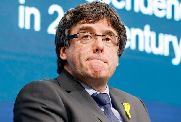 Carles Puigdemont voi joutua Espanjaan.