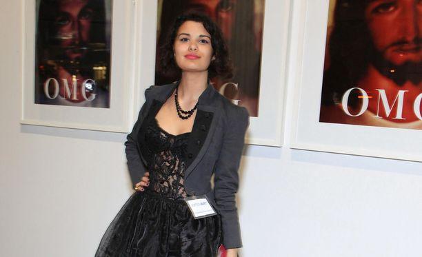 Cassandra Talula Dias-Greizis kuvattuna vuonna 2010 New Yorkissa järjestetyssä tilaisuudessa.