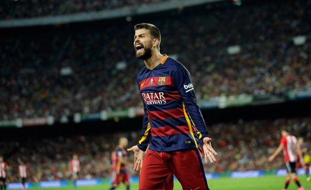 Gerard Piqué pääsee taas maistamaan La Ligan vauhtia.