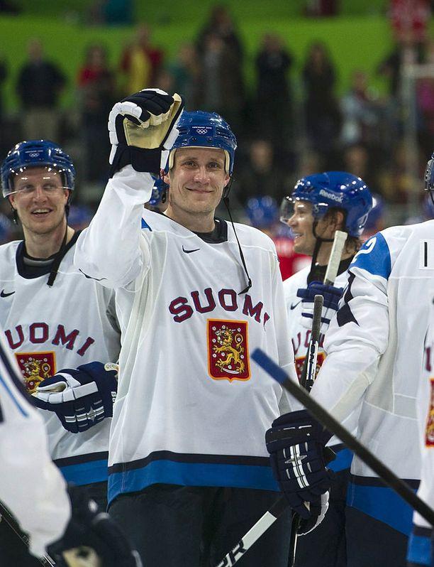 Sami Salo pelasi urallaan kolmet olympialaiset.
