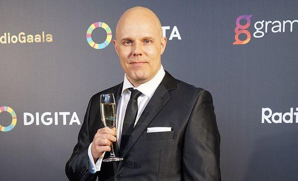 Aki Linnanahde osallistui Radiogaalaan maaliskuun lopussa.