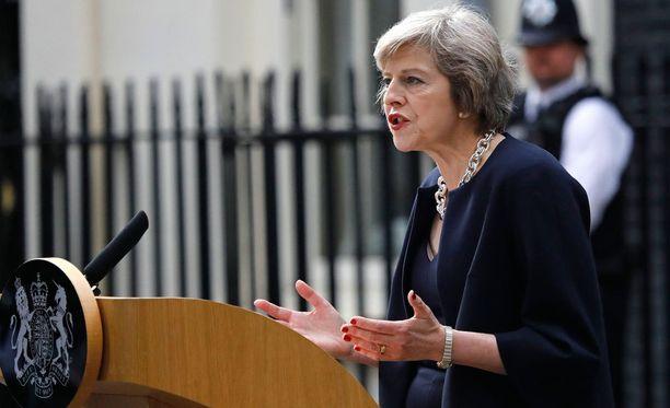Theresa May on nyt Britannian pääministeri.
