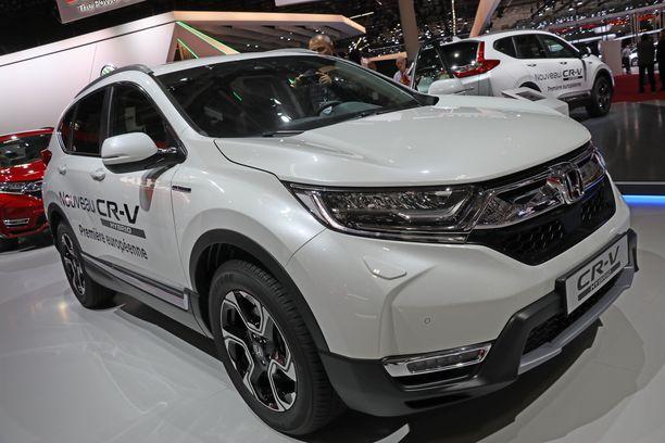 Uudesta Honda CR-V:stä on tarjolla hybridiversio, joka on tulossa myös Suomeen.