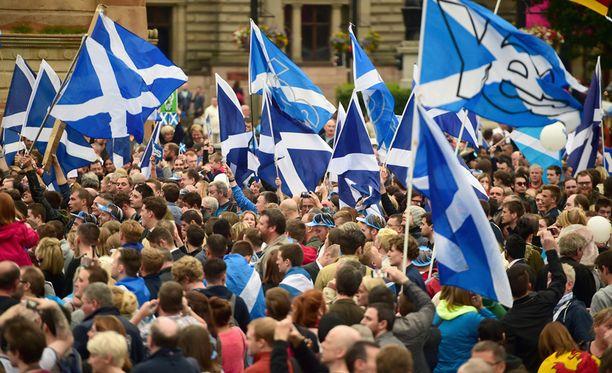 Ilmapiiri Skotlannissa on kiristynyt kansanäänestyksen alla.