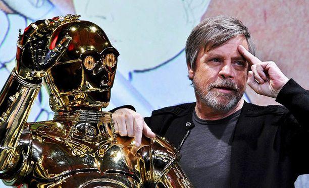 Mark Hamill tunnetaan erityisesti Luke Skywalkerin roolista.