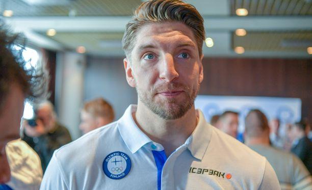 Oskar Osala on mukana Leijonien neljännesvälierässä.